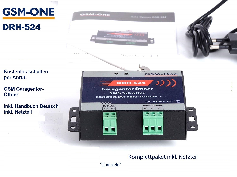 GATE-Opener, Toröffner, GSM-Schalter DRH-524