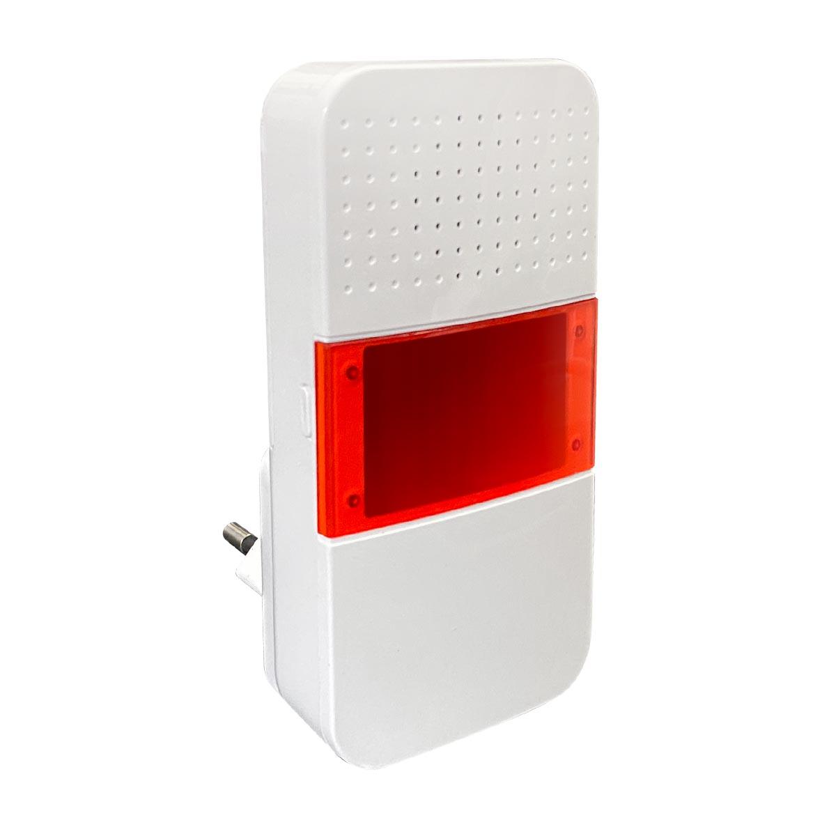 Blitzlicht-Sirene zum T1 Alarmsystem