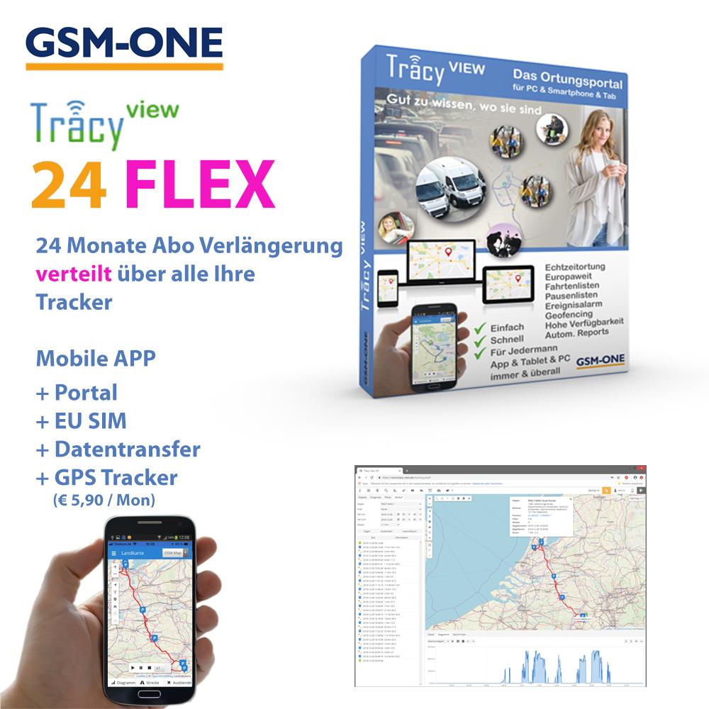 Tracy-View 24-FLEX, Flexible Abo Verlängerung für 24 Monate