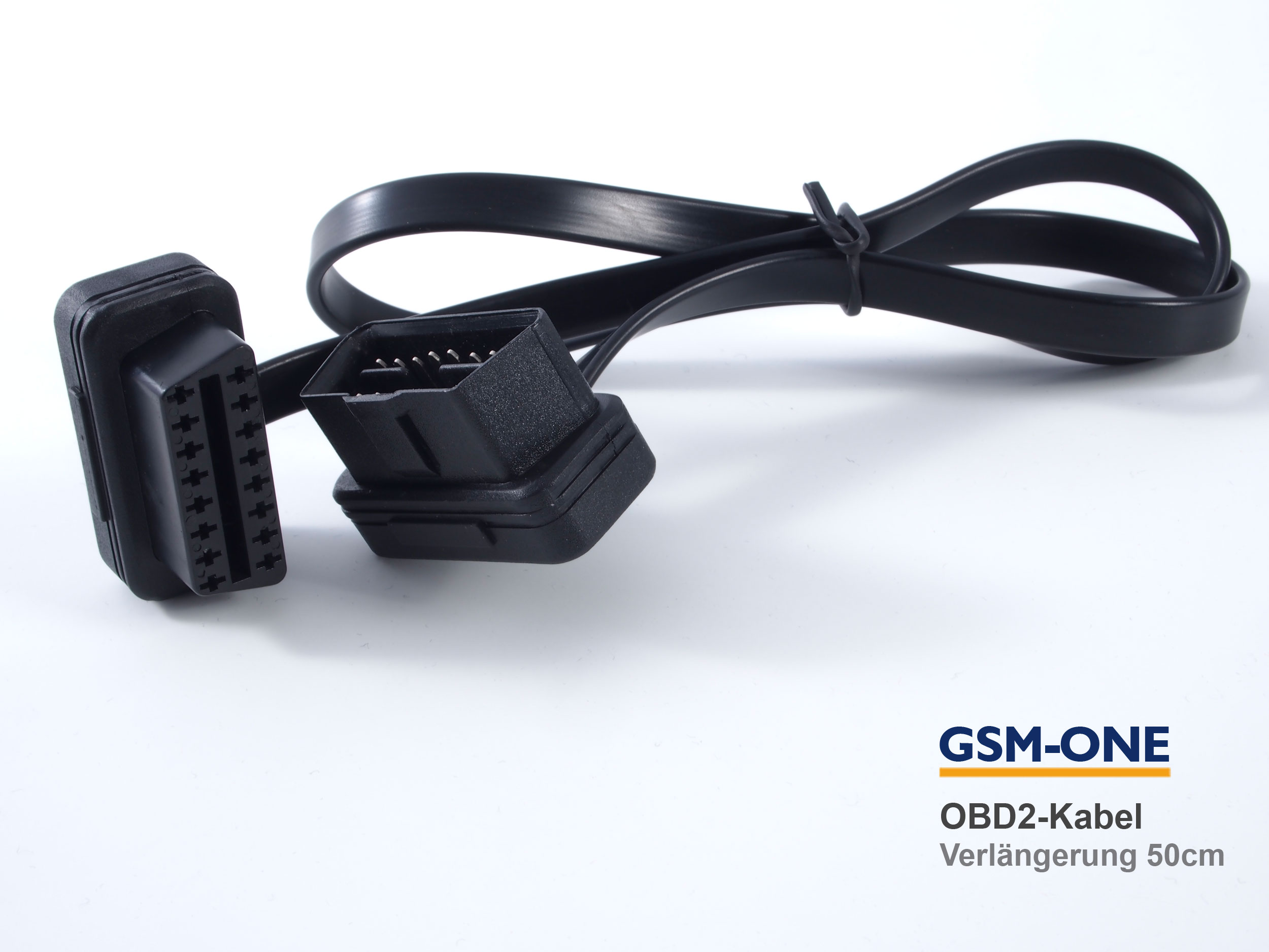 OBD2 Verlängerungskabel für TRACY Tracker. Länge: 50cm: DRH-OBD-KB50
