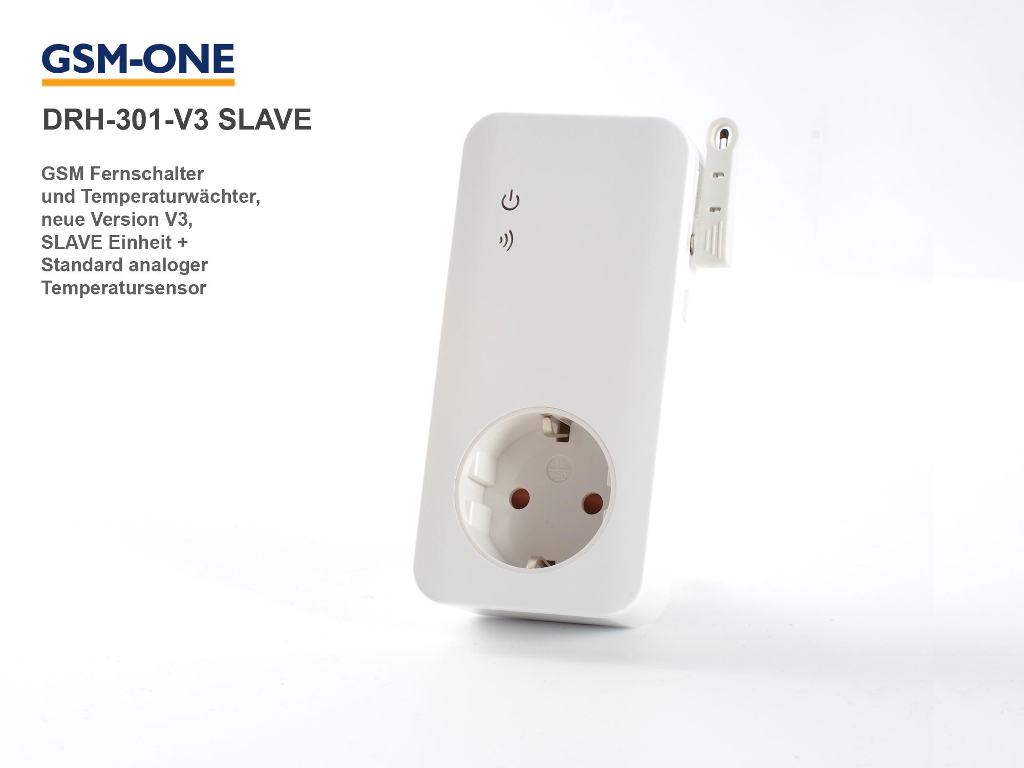 SLAVE Einheit zur Schaltsteckdose DRH-301-V3/V4