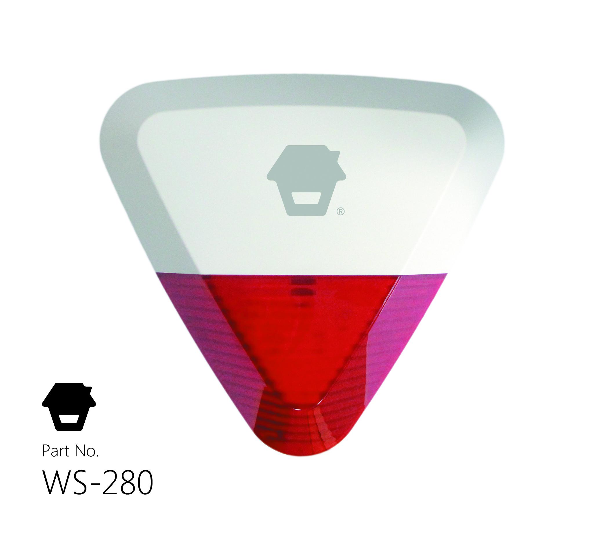 Drahtlose Außensirene CHUANGO WS-280
