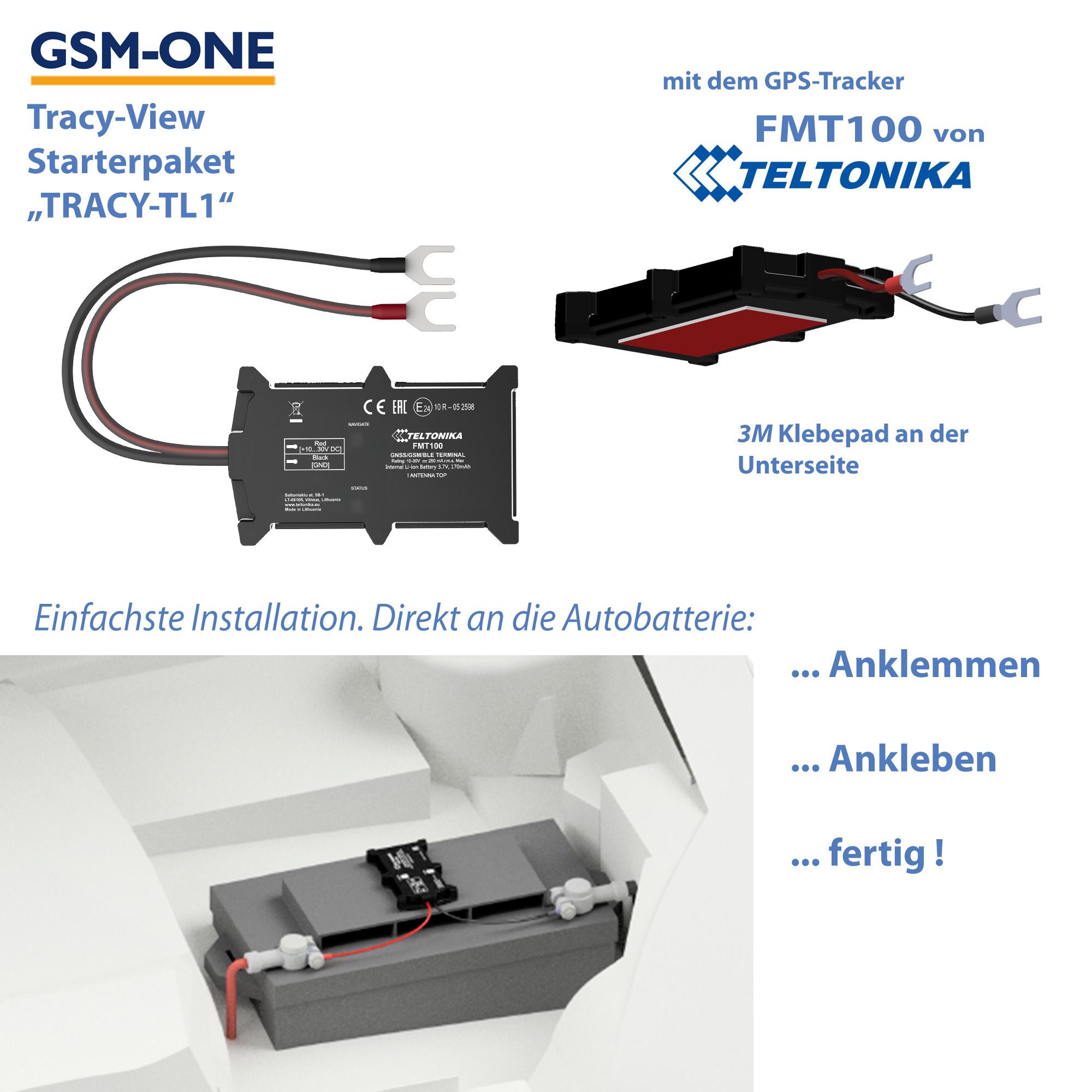 TRACY-TL1 Sofortstartpaket mit TELTONIKA FMT100